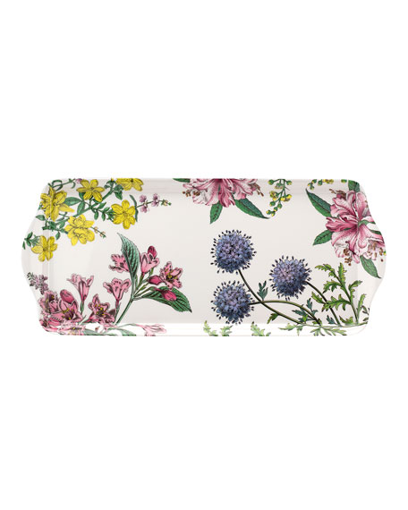 Image 1 of 3: Spode Stafford Blooms Melamine Sandwich Tray