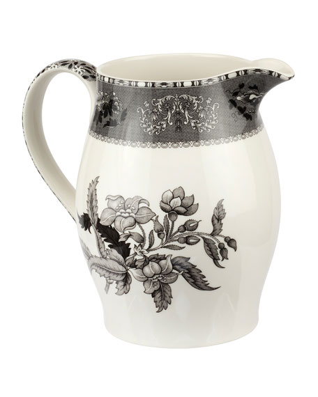 Image 3 of 4: Spode Heritage 3.5-Pt Pitcher