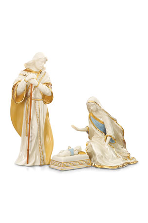 Lenox First Blessing Holy Family Figurine Set