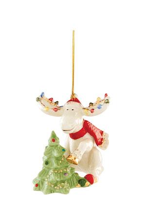 Lenox 2020 Marcel Decorates The Tree Ornament