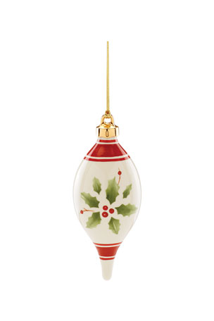 Lenox 2020 Hand-Painted Holiday Ornament