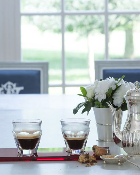 Image 3 of 3: Baccarat Harcourt Cafe Set