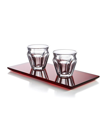 Image 1 of 3: Baccarat Harcourt Cafe Set