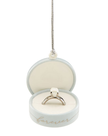 Image 1 of 1: 2020 Together Forever Ring Box Ornament
