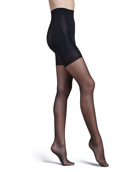 Spanx Bootyfull Sheers, Black