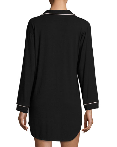 Gisele Sleepshirt, Black
