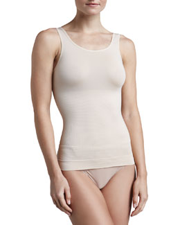 Cool Definition Moisture-Wicking Tank, Nude