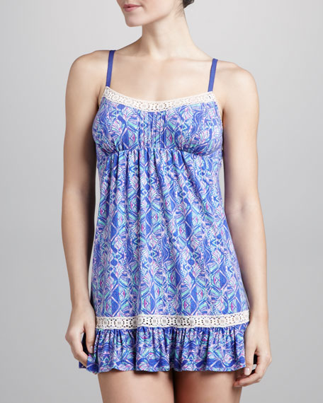 Boho Bliss Chemise, Stained Glass