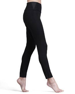 Spanx Wow! Woven Twill Leggings