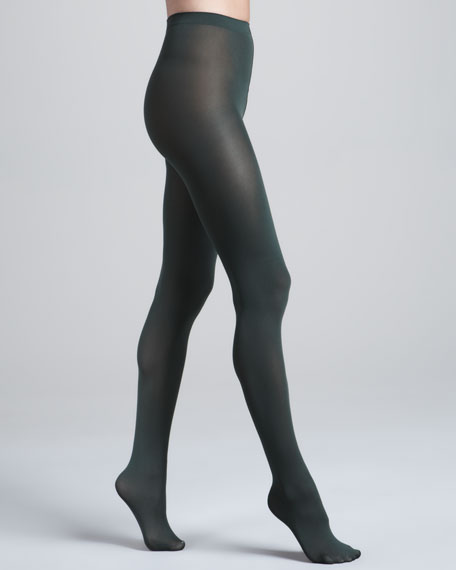 Velvet Luxe 66 Tights, Pine Needle