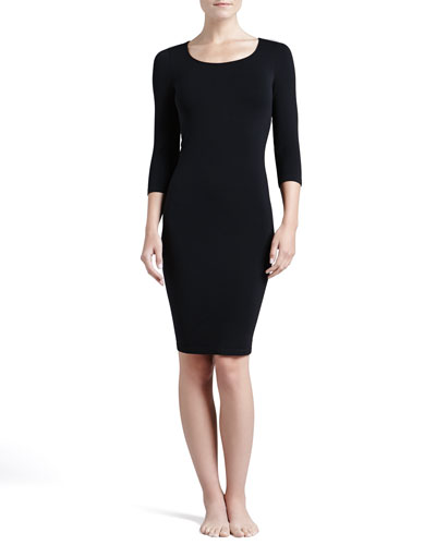Wolford Barcelona 3/4-Sleeve Lounge Dress