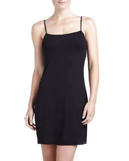 Cosabella Talco Slip Dress, Black