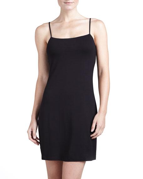 Talco Slip Dress, Black