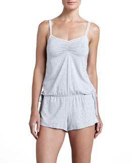Splendid Intimates Essential Short Jersey Romper