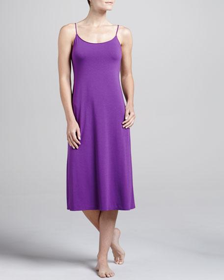 Shangri-La Jersey Gown, Royal Fuchsia