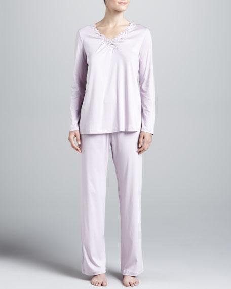 Julie Cotton Pajamas, Iris