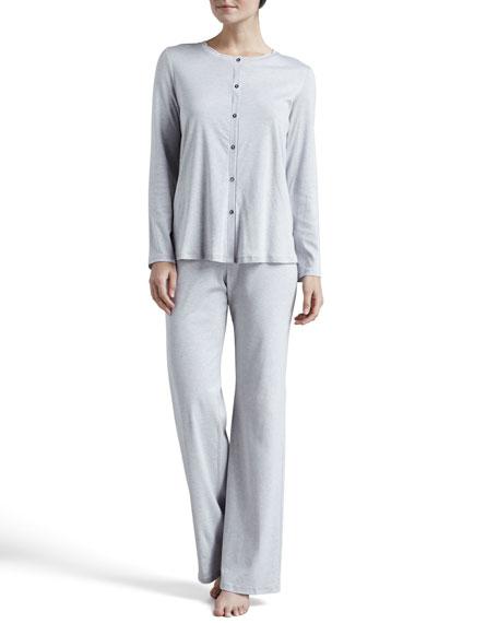 Tonight Button-Front Pajamas