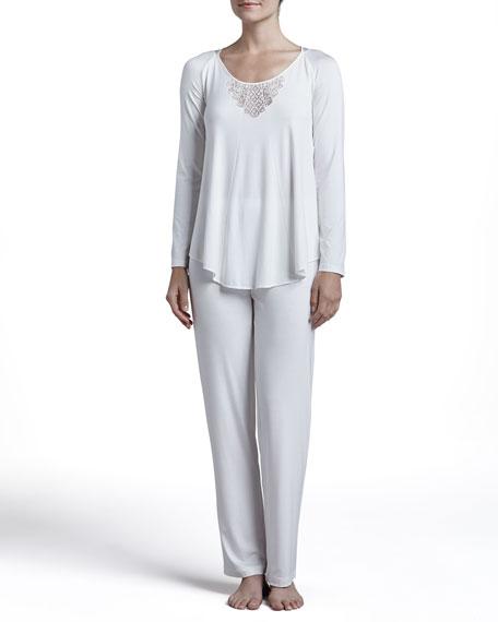 Flamenco Long-Sleeve Pajama Set