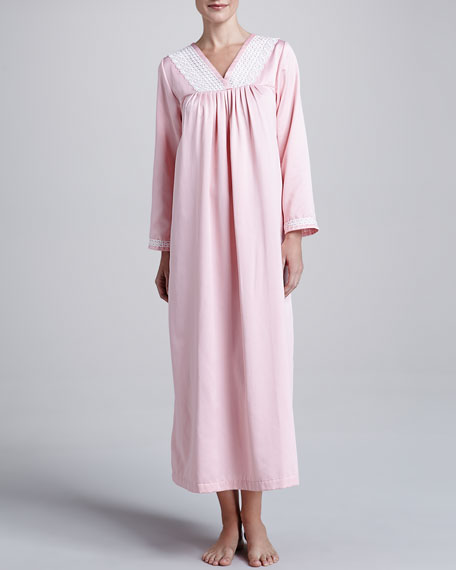 Soft Indulgence Long Gown, Soft Rose