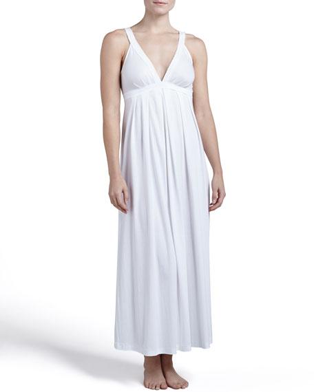 Pima Cotton Long Gown