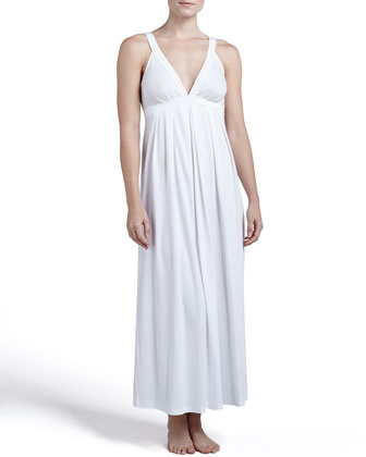 Pima Cotton Long Gown