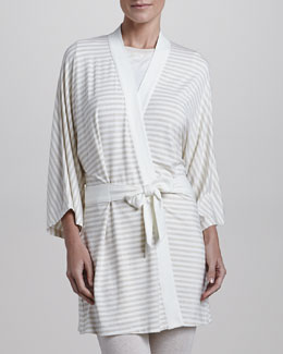 Splendid Intimates Striped Kimono Robe