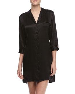 La Perla Studio Basic Silk Sleepshirt