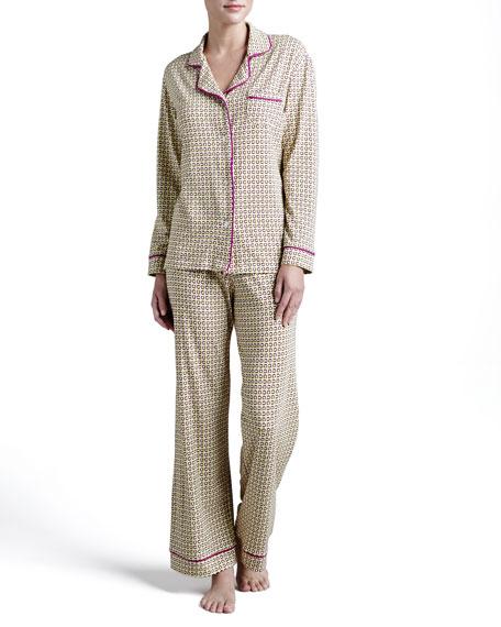 Bella Geometric-Link Printed Pajamas