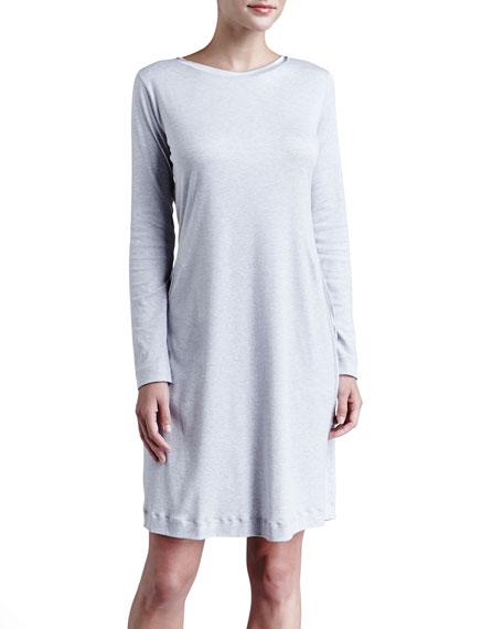 Calista Satin-Trim Interlock Gown