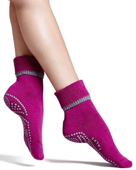 Cuddle Pad Socks, Raspberry