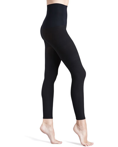 Commando 110 Denier Opaque Control Footless Tights