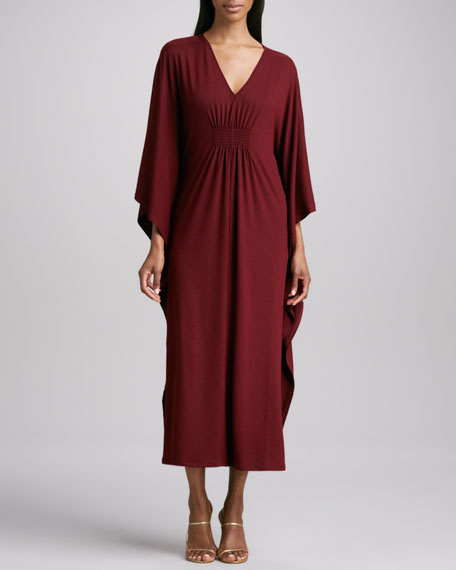 Jersey Smock-Front Caftan