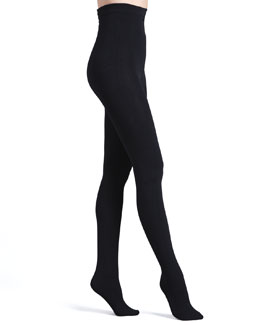 Donna Karan Luxe Layer Tights, Basic Black