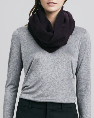 Vince Infinity Scarf, Mulberry
