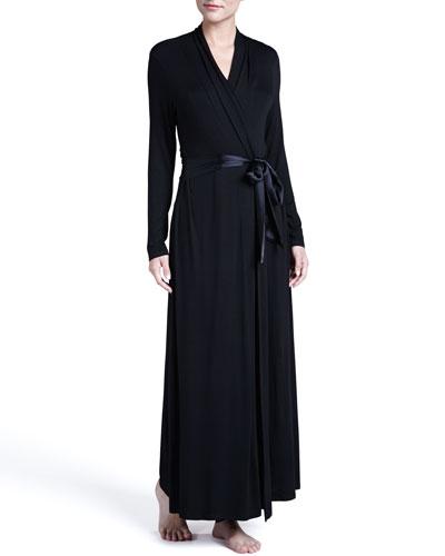 Take Me Away Long Robe, Black