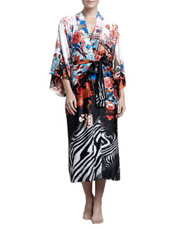 Natori Xianado Long Satin Robe