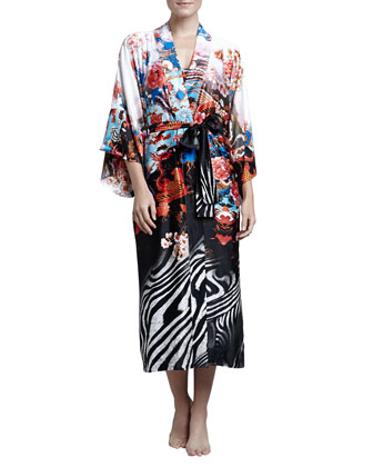 Xianado Long Satin Robe