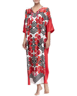 Natori Piccadilly Long Caftan