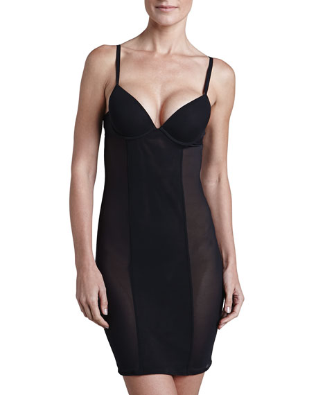 Studio Evelina Slip With Underwire Bra