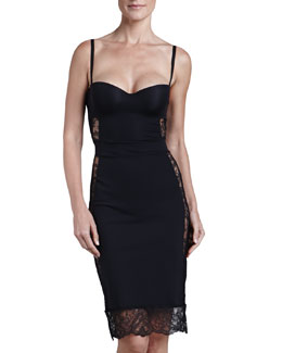 La Perla Allure Convertible Slip, Black