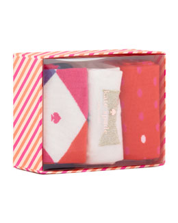 kate spade new york holiday sock box set