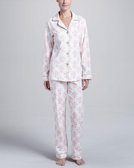 Fleur-de-Lis Classic Pajamas