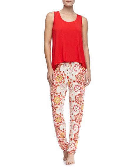 Floral-Print Lounge Pants