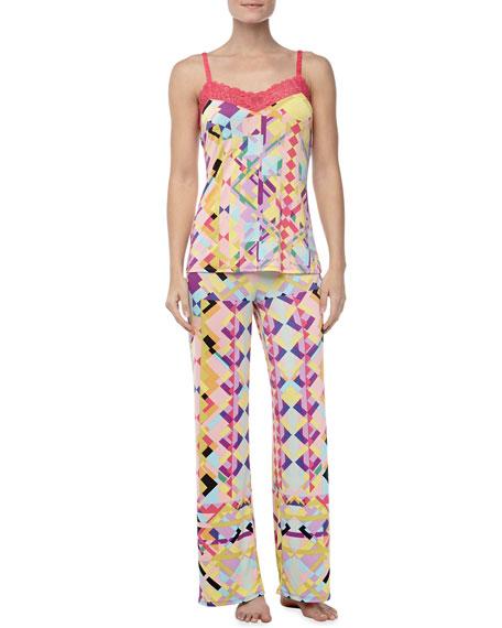 Chic Camisole Pajama Set