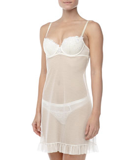 Chantelle Palais Royal Padded Chemise, Ivory