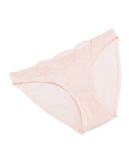 Hanro Lucia Bikini Briefs, Tender Rose