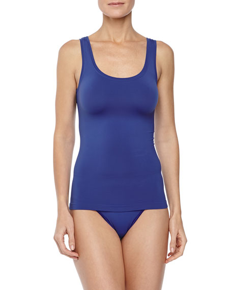Touch Feeling Tank Top, Vibrant Blue