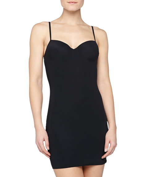 HanroBodydress Slip with Built-In Bra