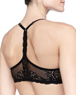 Natori Feathers Front-Close T-Back Bra