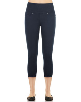 Spanx Denim Capri Leggings, Indigo